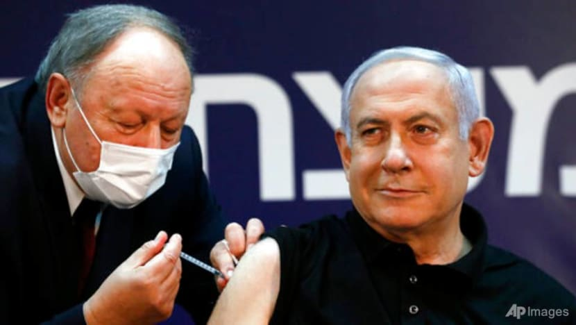 Israeli PM joins world leaders getting COVID-19 vaccine