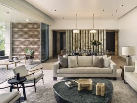 Inside a 3,500 sq ft Singapore apartment designed with a New York vibe