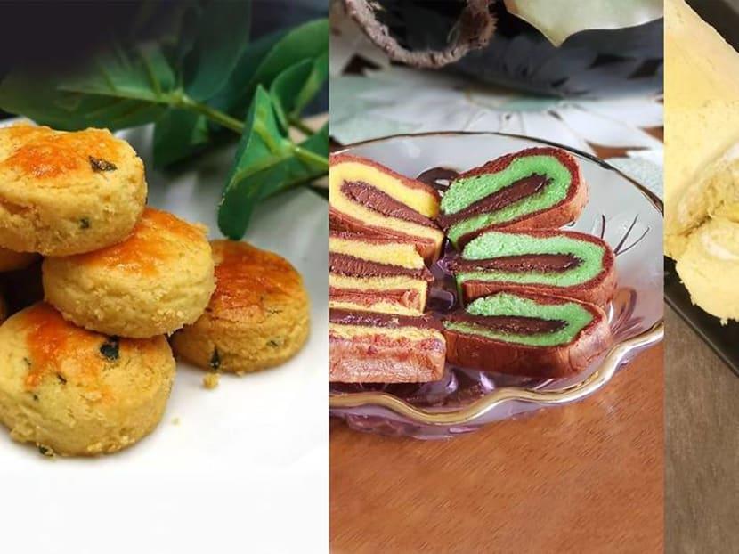 Sambal cookies, Thai milk tea tarts: New kueh trends to look out for this Hari Raya