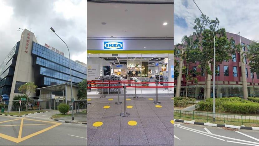 Sim Lim Square, IKEA Jurong among locations visited by COVID-19 cases during infectious period