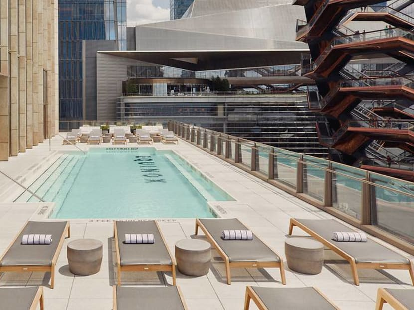 Could a sweaty gym actually spawn a luxury hotel? Apparently, yes