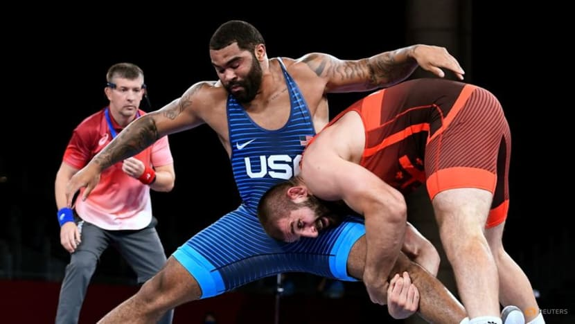 Wrestling: Steveson bags super heavyweight gold with last-second win