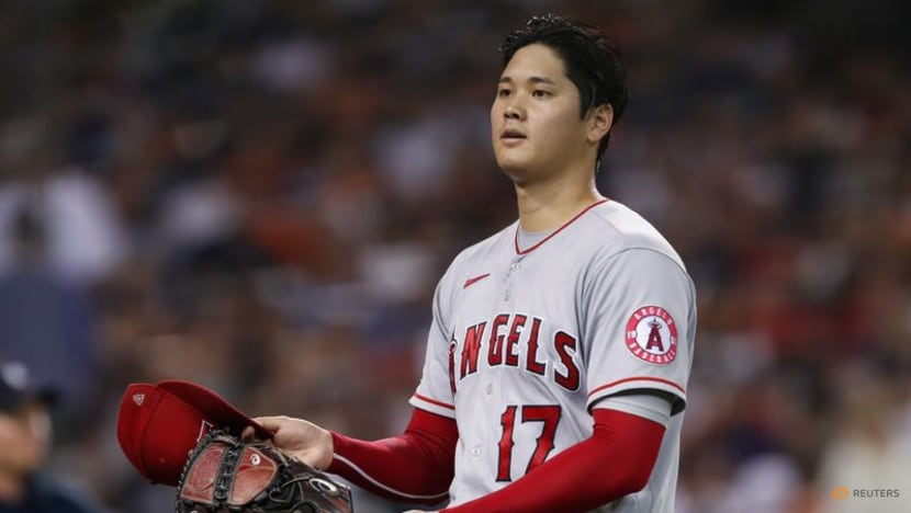 MLB roundup: Shohei Ohtani pitches, belts 40th homer in Angels' win