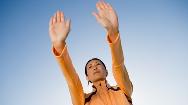 How did qigong suddenly become a cool workout for young people?