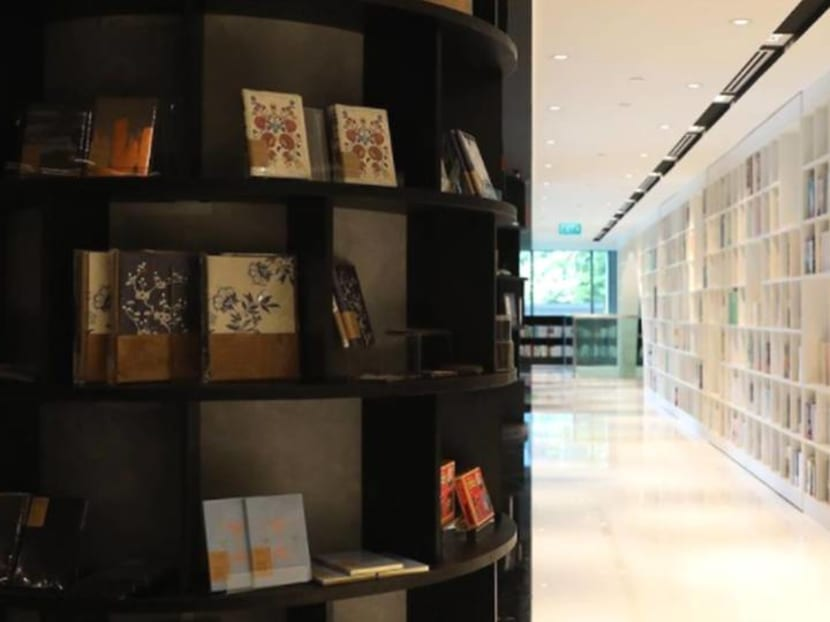 There's a bookstore in Orchard Road again – and it also has a cafe and art gallery