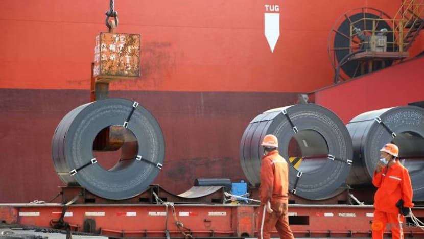 China's industrial profit growth slows in June on high raw material prices