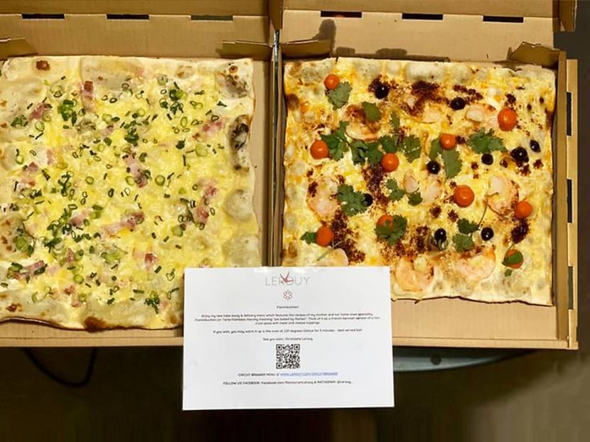 It's not pizza: A Michelin chef wants Singaporeans to taste his mum's square pies