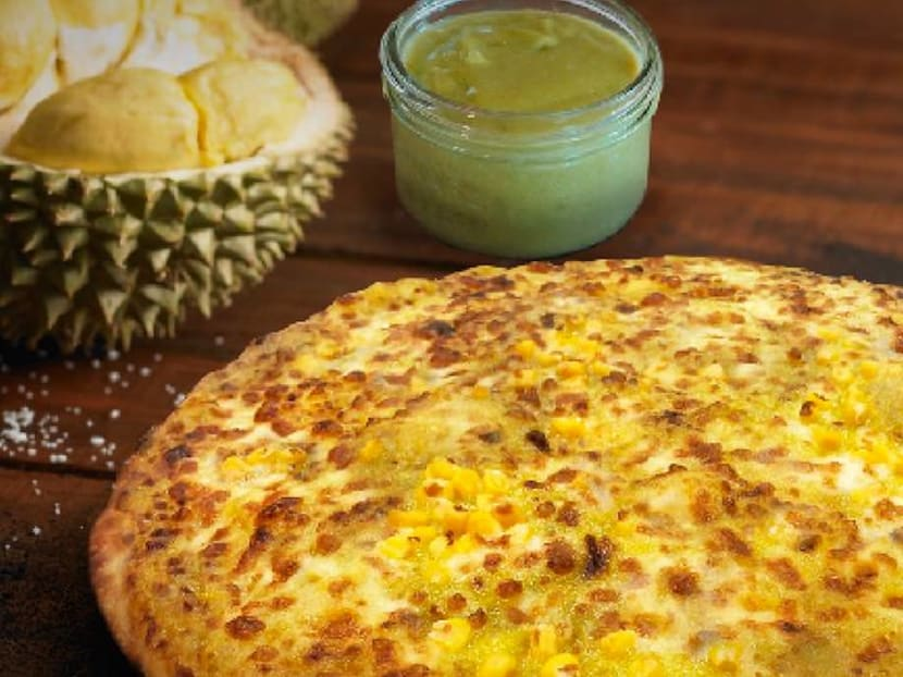 Think cheese is smelly? How about a Mao Shan Wang durian pizza with kaya?