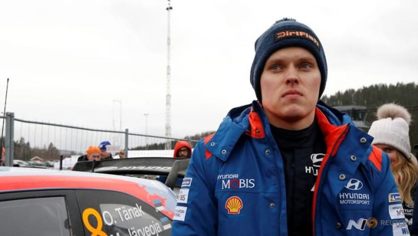 Rallying-Tanak leads in Portugal as Neuville rolls