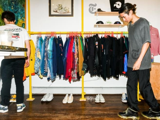 Old is new again: Why vintage clothes shopping is back