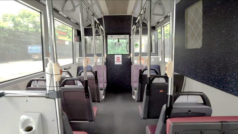 20 SMRT buses retrofitted to help transport COVID-19 patients between facilities