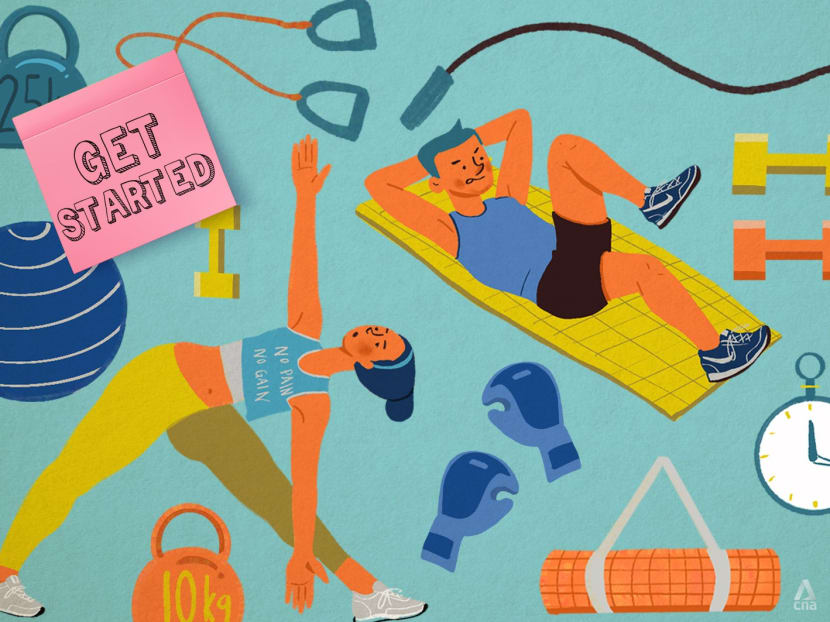 Get Started: A beginner's guide to home workouts from start to finish