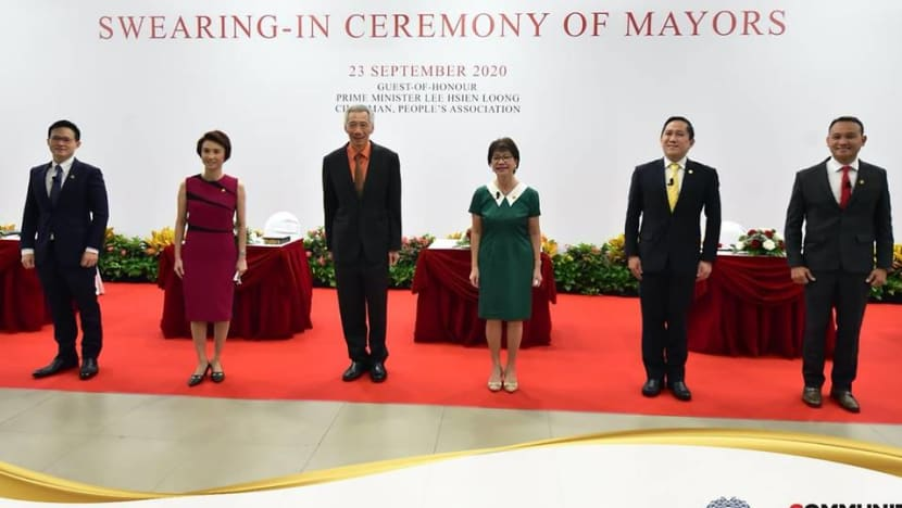 CDCs keep 'low profile' but are vital during crises, says PM Lee at swearing-in of mayors