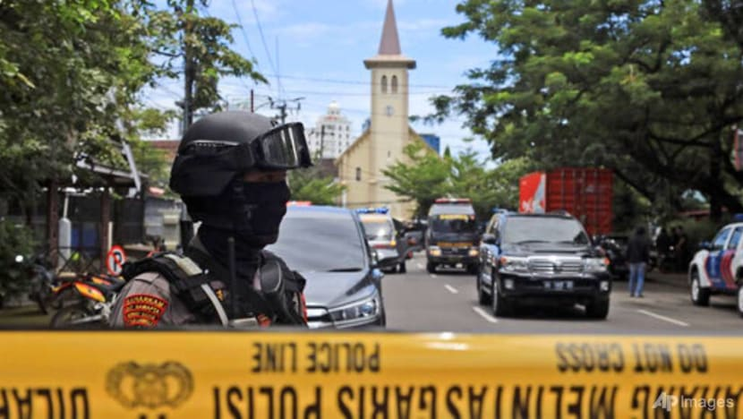 About 20 injured after suspected suicide bombing at Indonesian church