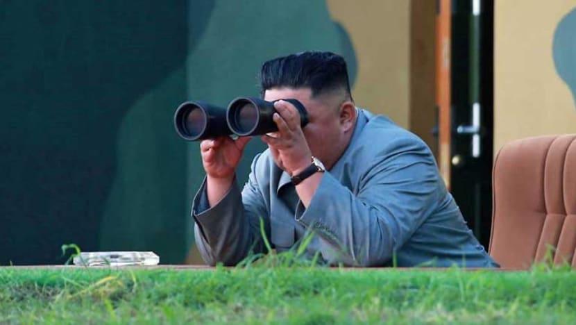 Kim Jong Un supervised North Korea's test firing of new rocket launcher: State media