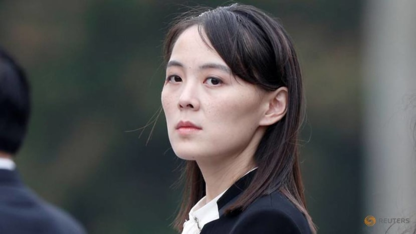 North Korean leader's sister slams South Korea's Moon for criticism of recent missile test