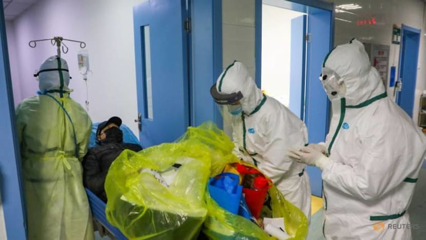 China says 6 health workers died from coronavirus, 1,716 infected