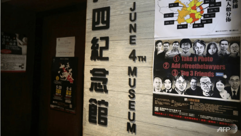 Hong Kong's June 4th Museum temporarily closes over licensing probe