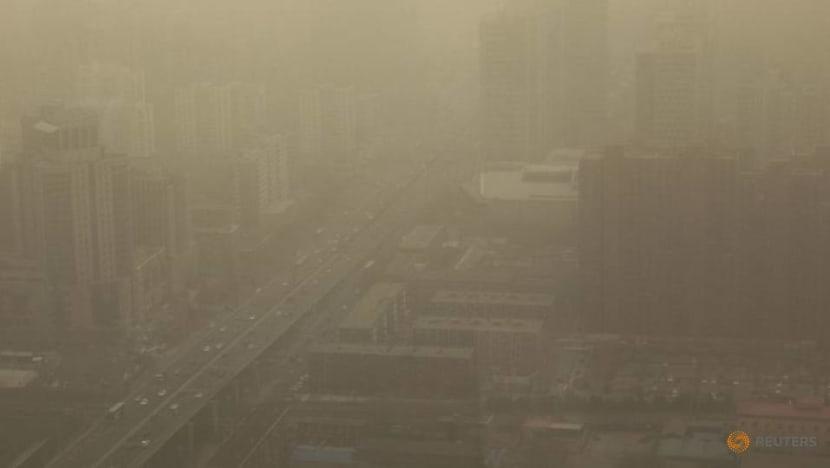 Beijing enveloped in hazardous sandstorm, second time in 2 weeks