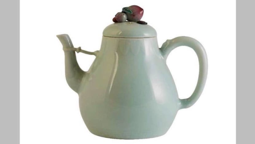 Cracked, rare Chinese teapot sold at auction for more than US$1 million: Report