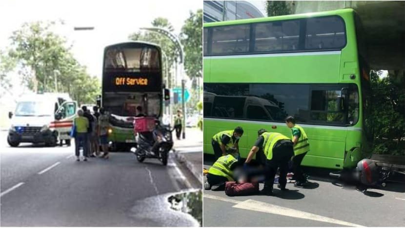 Motorcyclist dies after accident with bus in Jurong