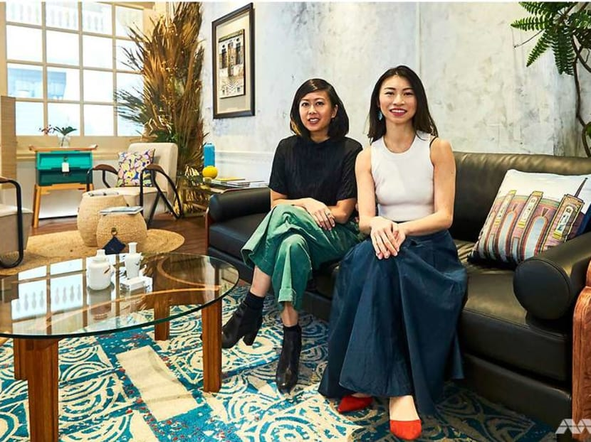Inside Singaporean brand Scene Shang's new home at the Raffles Hotel