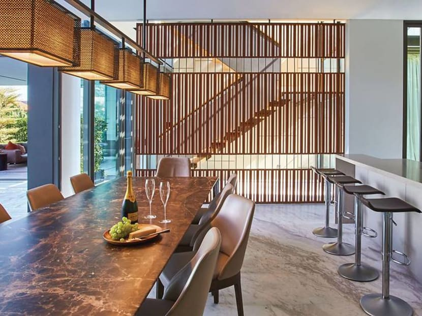 This Singapore home pays tribute to both architectural history and family ties