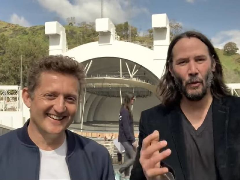 Keanu Reeves and Alex Winter confirmBill & Ted Face The Music
