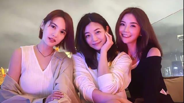 3冻龄女神同框啦!杨丞琳晒与陈妍希、阿Sa聚会合照