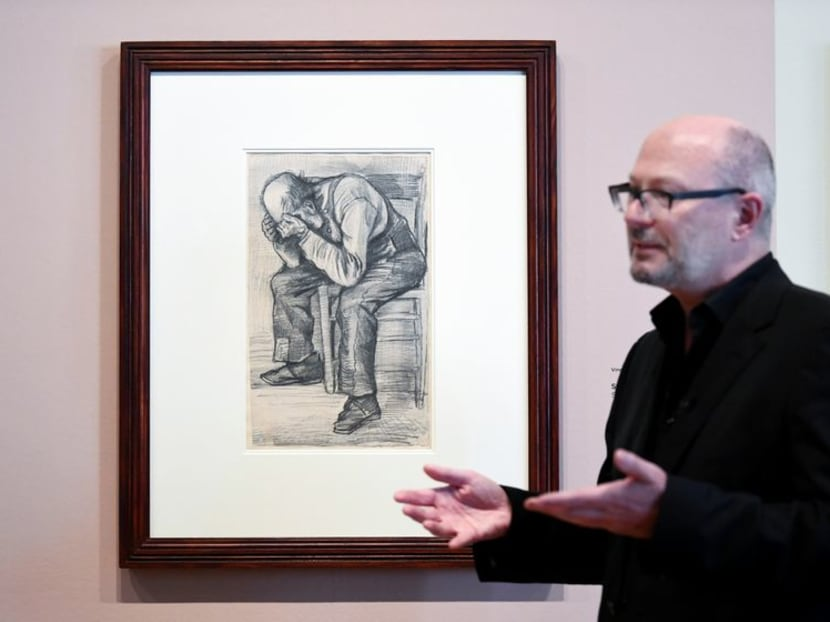 'Worn Out' - Dutch museum finds Van Gogh drawing of tired old man