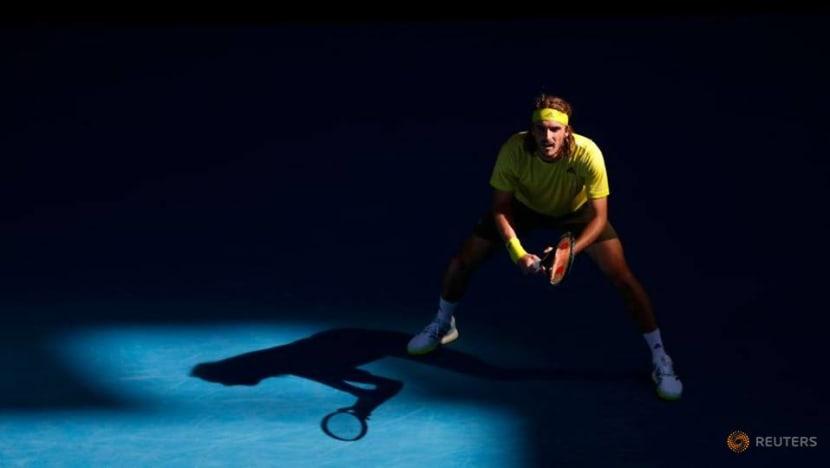 Tennis: Injured Berrettini withdraws to send Tsitsipas into last eight