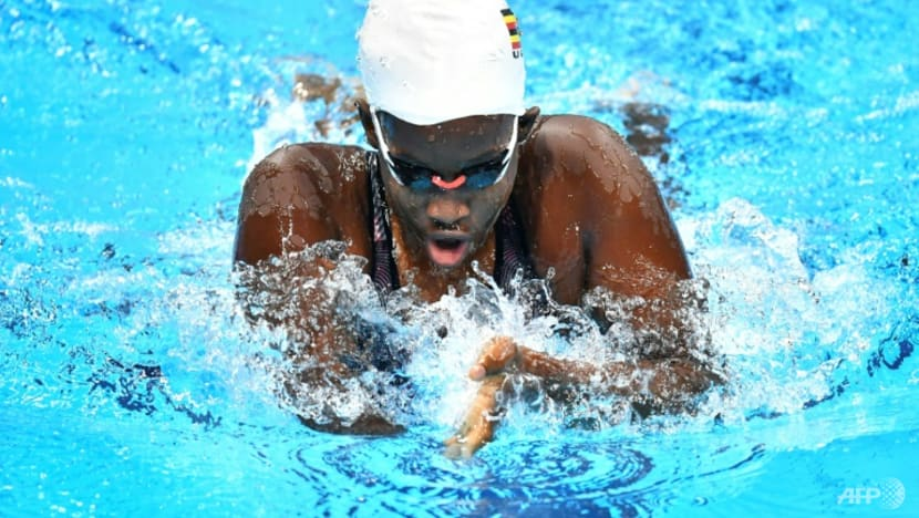 Youngest Paralympian swims for change in Tokyo