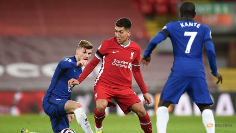Football: Liverpool's Firmino back in training ahead of Arsenal trip