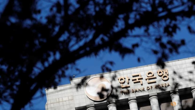 South Korea central bank holds rates, signals tightening prospects
