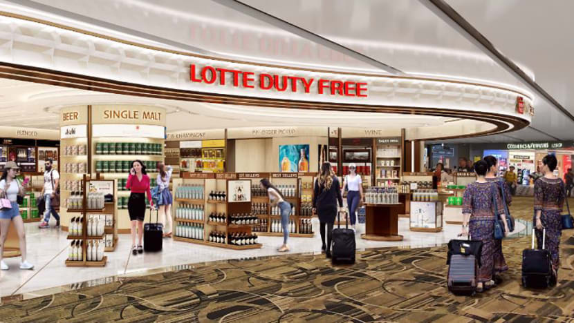 Lotte takes over liquor, tobacco concession at Changi Airport