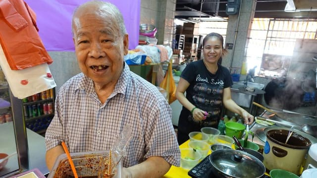翡翠著名云吞面前大厨邓师傅过世 享年87岁