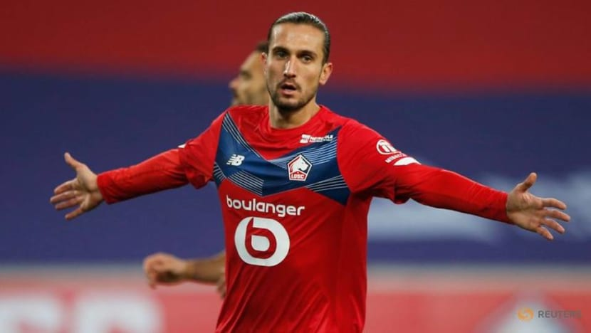 Yazici shines as Lille cut PSG's lead with Lorient win