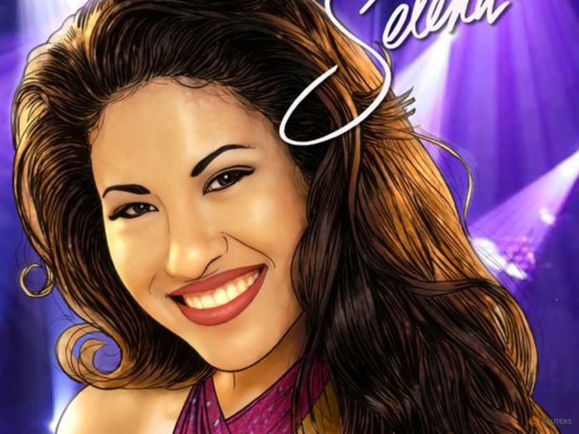 Latin singer Selena featured in new US comic book coming out in August