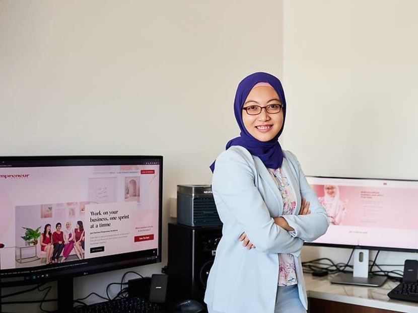 Left homeless after her father's death, she now empowers women to start businesses