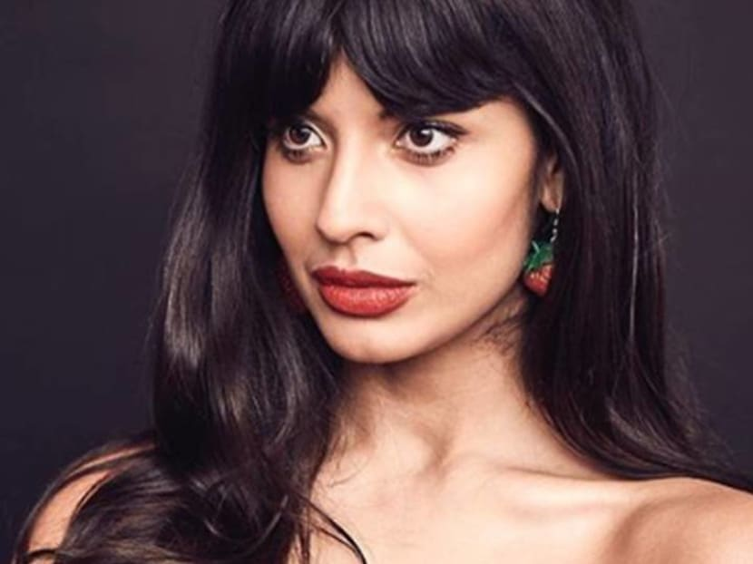Jameela Jamil speaks out against Karl Lagerfeld: 'He hurt a lot of people'