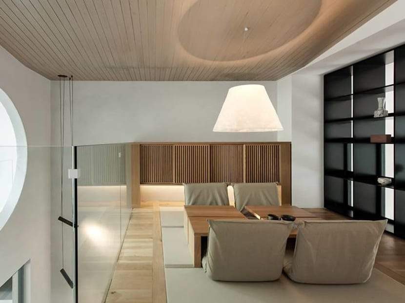 Inside a Kuala Lumpur house with a Japanese-style tatami room for sipping tea