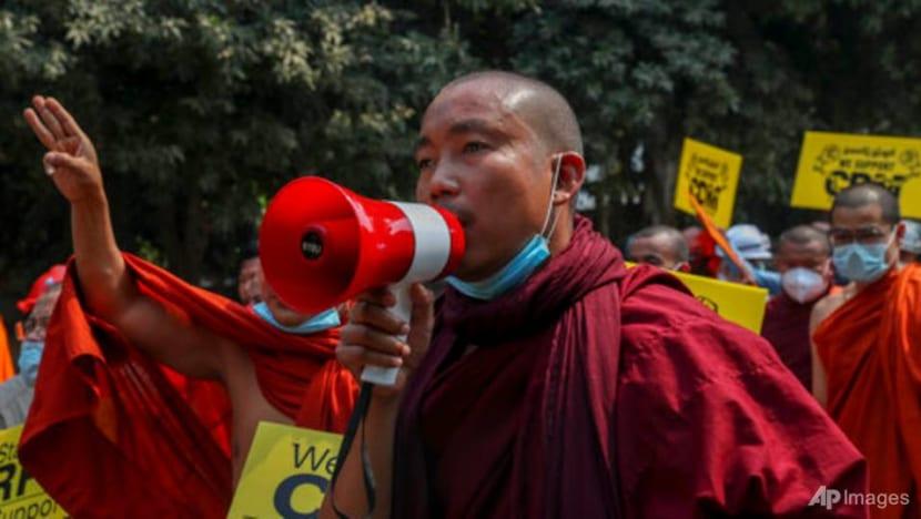 Myanmar Buddhist group signals break with authorities after violent crackdown