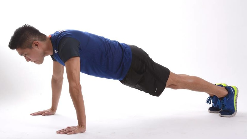 Commentary: What good is doing push-ups for mental health?