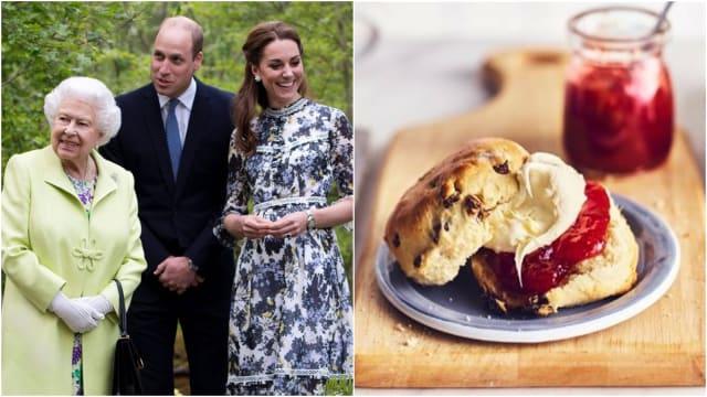 复制出皇家美味 英国皇室公开水果Scones食谱