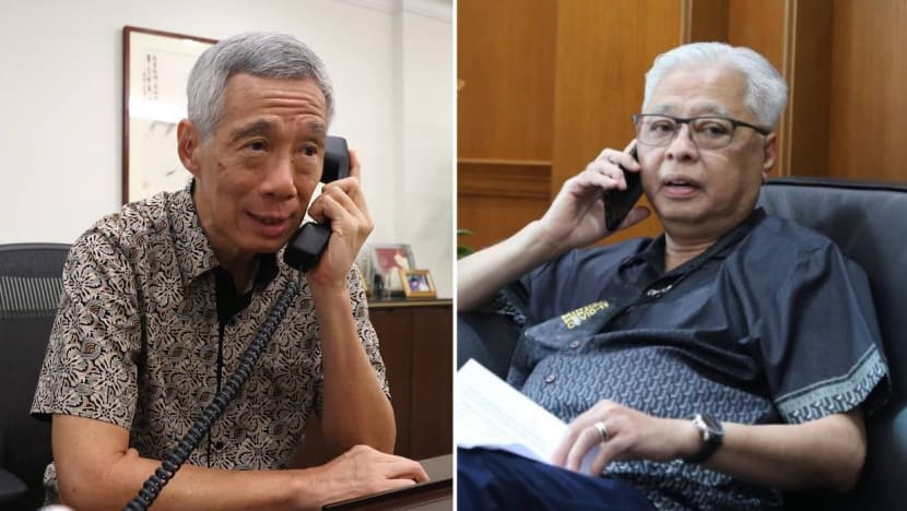 PM Lee congratulates Ismail Sabri Yaakob on becoming Malaysia's 9th prime minister