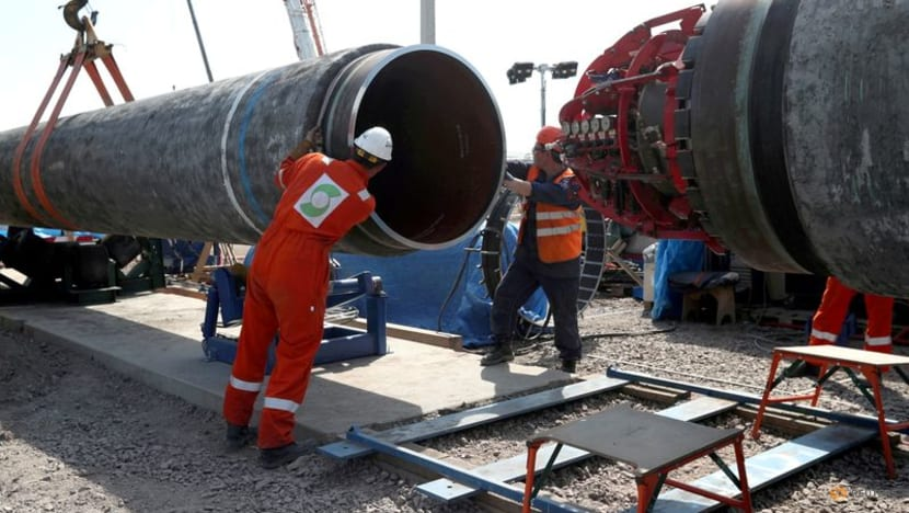 Just 15km of Nord Stream 2 pipeline to go, says Putin