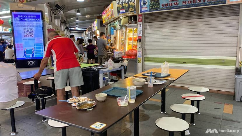 Change in mindsets, establishing norms needed to get diners to return their trays, say experts