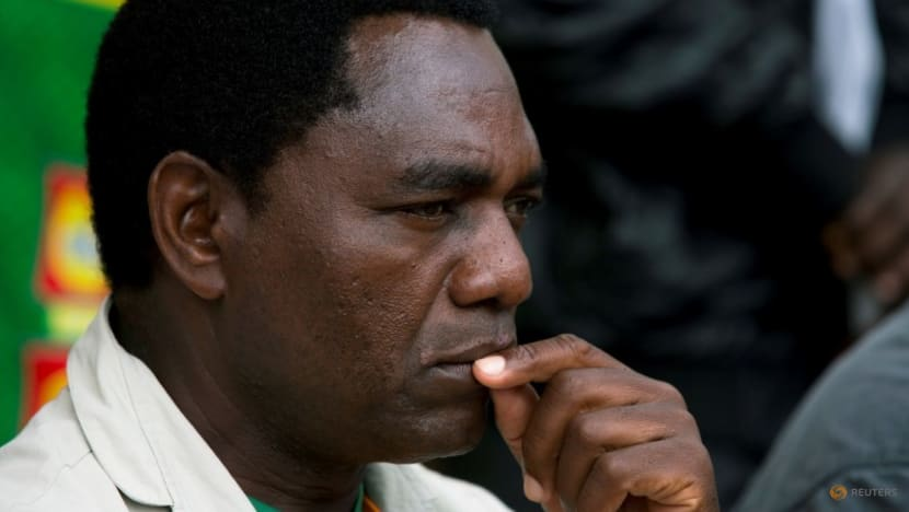 Zambian opposition leader Hichilema heads closer to victory in presidential vote