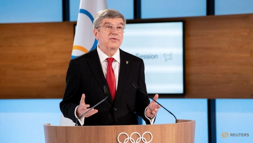 IOC President Bach wins unopposed second term to 2025