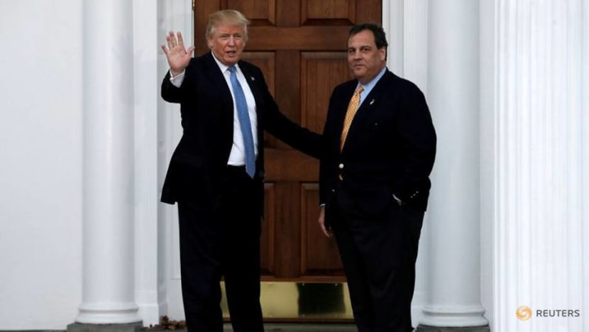 Former New Jersey Governor Christie leaves hospital after COVID-19 treatment